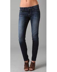 Joe's Jeans | Blue Ankle Cigarette Jeans | Lyst