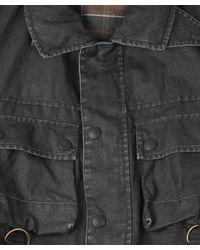 Barbour - Green Washed Olive Duralinen Field Jacket for Men - Lyst