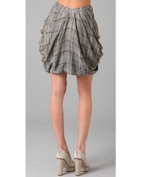 Opening Ceremony | Gray Draped Skirt | Lyst