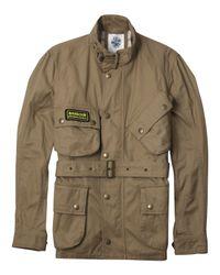 Barbour | Natural Washed Twill International Jacket for Men | Lyst
