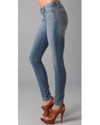 Resin | Blue Lariat Super Skinny Jeans | Lyst