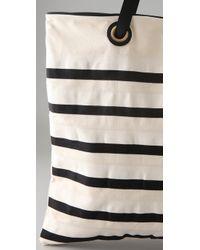 By Malene Birger | White Kalikoa Striped Canvas Tote | Lyst
