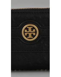 Tory Burch | Black Audra Zip Coin Case | Lyst