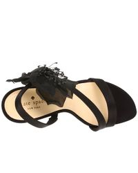 kate spade new york | Beau - Black Jelly Sandal | Lyst