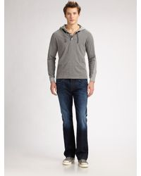 Number:lab | Blue Pullover Cotton Hoodie for Men | Lyst