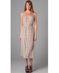 Sunner | Pink Printed Oak Long Dress | Lyst