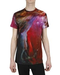 Christopher Kane | Red Stretch Viscose Jersey T-shirt for Men | Lyst