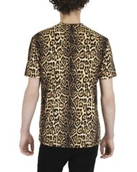 Givenchy | Multicolor Leopard Clown Jersey T-shirt for Men | Lyst