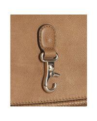 Gucci - Natural Camel Brown Leather Marrakech Messenger Bag - Lyst