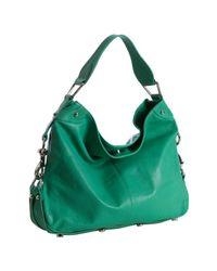 Rebecca Minkoff | Blue Sea Green Leather Mini Nikki Shoulder Bag | Lyst