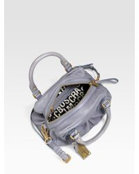 Marc By Marc Jacobs - Blue Classic Q Baby Groovee Shoulder Bag - Lyst