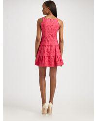 Nanette Lepore   Pink Sleeveless Magic Rain Dress   Lyst