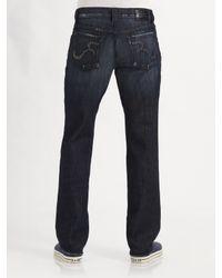 Rock & Republic | Blue Neil Relaxed Straight-leg Jeans for Men | Lyst