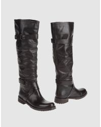 The Seller   Black Boots   Lyst