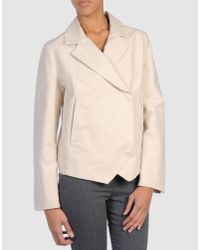 MM6 by Maison Martin Margiela | Natural Blazer | Lyst