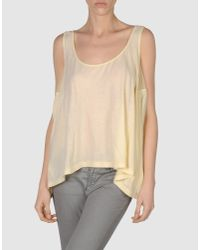 Seneca Rising | Yellow Top | Lyst