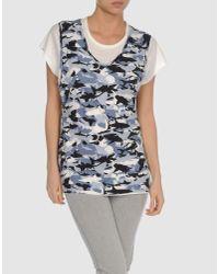 Love Moschino - Gray T-shirt - Lyst