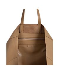 Céline - Natural Camel Leather Shopping Tote - Lyst