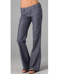 Joe's Jeans | Blue High Rise Wide Leg Trouser Jeans | Lyst