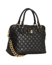 Marc Jacobs | Black Quilted Leather The Standard Shoulder Bag | Lyst