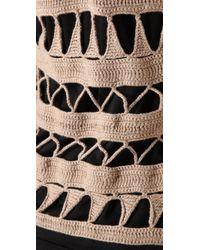 Mike Gonzalez - Black Sleeveless Knit Top - Lyst