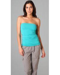 Splendid - Blue Stretch Tube Dress / Skirt - Lyst