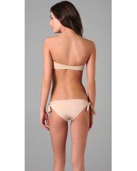 Cali Dreaming - Natural The Nubby Bikini - Lyst