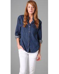 Genetic Denim | Blue The Prim Oversized Shirt | Lyst