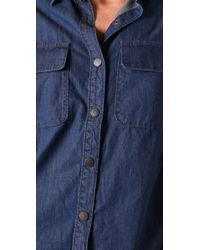 Genetic Denim - Blue The Prim Oversized Shirt - Lyst