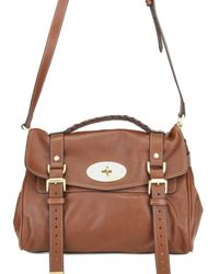 Mulberry | Brown Soft Bufalo Alexa Satchel | Lyst