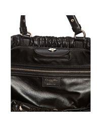 Dior - Black Medium Granville Leather Satchel - Lyst