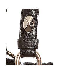 Dior | Black Medium Granville Leather Satchel | Lyst
