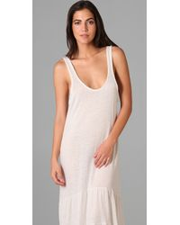 Free People - Natural Beach Long Dress - Lyst