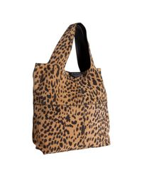 Givenchy - Multicolor Leopard Print Brushed Lambskin George V Tote - Lyst