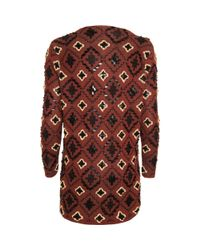 Opening Ceremony - Red Oversized Embellished Cardigan for Men - Lyst