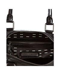 Rebecca Minkoff   Black Alligator Embossed Mab Mini Bag with Strap   Lyst