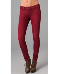 Resin | Red Lariat Skinny Jeans | Lyst