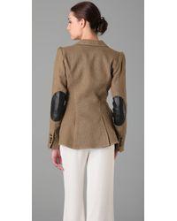 Smythe - Brown Equesterian Jacket - Lyst