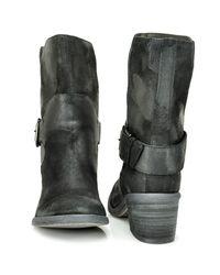 Donald J Pliner | Donata - Black Suede Ankle Boot | Lyst