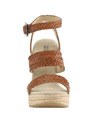 MICHAEL Michael Kors - Brown Juniper - Luggage Leather Espadrille - Lyst