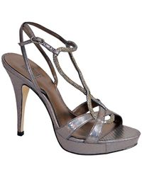 Pelle Moda | Vino  Metallic Platform Sandal | Lyst