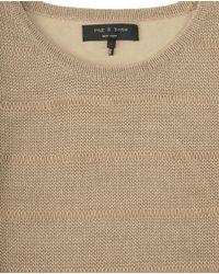 Rag & Bone - Natural Holloway Dress - Lyst