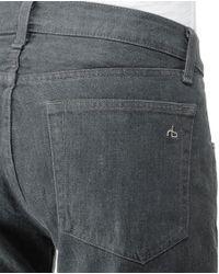 Rag & Bone - Gray Rb15x- Steel Wash for Men - Lyst