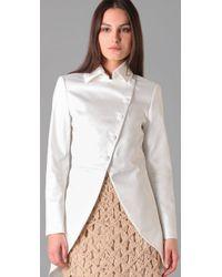 Rag & Bone | White Highland Coat | Lyst