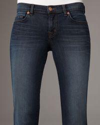 J Brand | Gray Elephant Bell-bottom Jeans | Lyst