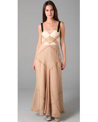 Rag & Bone | Natural Lafone Maxi Dress | Lyst
