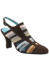 Thierry Rabotin | Multicolor Fancy - Suede and Elastic Mule Slingback | Lyst