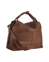 Givenchy | Brown Leather Buggatti East-west Large Bag | Lyst