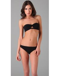 Naelie | Black Gina Cutout Bikini | Lyst