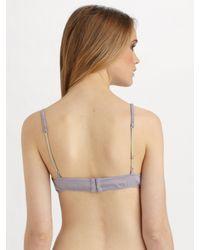 3.1 Phillip Lim | Purple Swiss Dot Print Bralette | Lyst